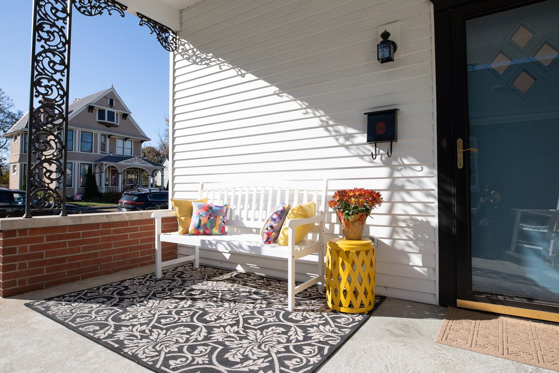 Bough House front porch